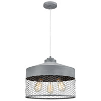 Dimond Lighting 1201-030 Darkhorse 3 Light 16 inch Concrete Pendant Ceiling Light