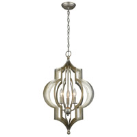 Dimond Lighting Firenze 3 Light Pendant in Pewter 1202-002