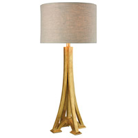 Dimond Lighting LExpo 1 Light Table Lamp in Antique Gold Leaf 1202-003