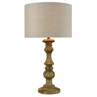 Dimond Lighting Haute-Vienne 1 Light Table Lamp in Natural Stain 1202-006