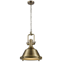 Dimond Lighting 1223-026 Centurion 1 Light 16 inch Nickel Pendant Ceiling Light