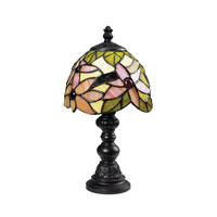 Dimond Lighting Mini Tiffany 1 Light Mini Lamp in Tiffany 126-0010
