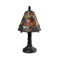 Dimond Lighting Mini Tiffany 1 Light Mini Lamp in Tiffany 126-0012
