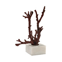 Staghorn Red Coral Sculpture