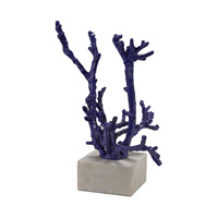 Staghorn Purple Coral Sculpture