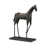 Lazy Susan by Dimond Signature Stilted Horse in Bronze 148029