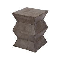 Dimond Home Fold Cement Stool in Concrete 157-005