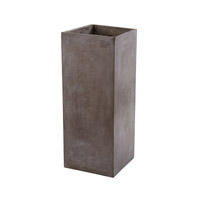 Lazy Susan by Dimond Lighting Al Fresco Planter in Concrete 157-012