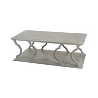 Dimond Home Mahogany Cloud Coffee Table in Grey Wood Wood and MDF 158-002