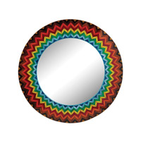 Dimond Home Starburst Mirror in Color MDF and Glass 163-002