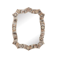 Dimond Home Antoinette Shell Mirror in Natural MDF and Shell and Glass 163-028