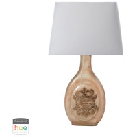 Dimond Lighting 169-015-HUE-B Glass Bottle 22 inch 60 watt French Wine Bottle Table Lamp Portable Light