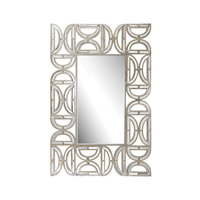 Lazy Susan by Dimond Lighting Signature Mirror in Clear and Gold Mirror and MDF 173-008