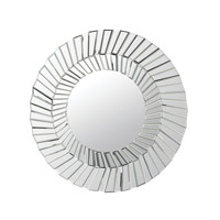 Dimond Home Layered Circles Mirror in Clear Mirror and MDF 173-013