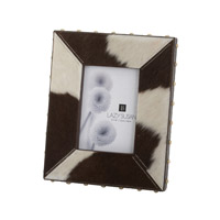 Lazy Susan by Dimond Holstein Frame in Black and Cream 173033