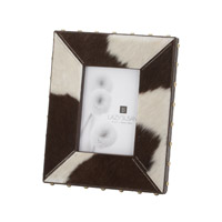 Lazy Susan by Dimond Holstein Frame in Black and Cream 173034