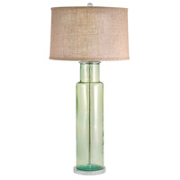 Signature 30 inch 100 watt Green Table Lamp Portable Light