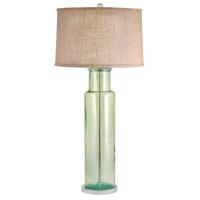 Dimond Lighting 216G Signature 30 inch 100 watt Green Table Lamp Portable Light