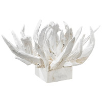 Chinook White Tabletop Sculpture