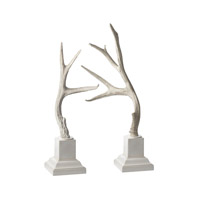 Lazy Susan by Dimond Signature Antlers in Cream 225019