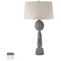 Ceramic 30 inch 60 watt Matte Table Lamp Portable Light
