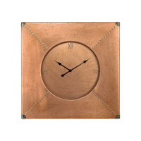 Dimond Home Frame Wall Clock in Copper 3100-008