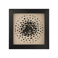 Shadow Box Black and White Wall Decor