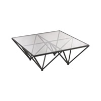 Dimond Home Geometric Coffee Table in Dark Bronze 3200-003