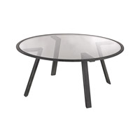 Lazy Susan by Dimond Lighting Geometric Coffee Table in Pewter 3200-040