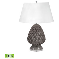 Raindrop 29 inch 9.5 watt Grey Table Lamp Portable Light