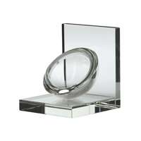 Signature Clear Bookend
