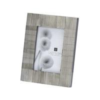 Lazy Susan by Dimond Pin Stripe Frame in Gray 344058
