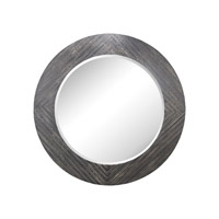 Blackwall 64 X 64 inch Black Ash Wall Mirror Home Decor