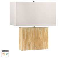 Wild Acrylic 26 inch 60 watt Beige Table Lamp Portable Light, with Night Light
