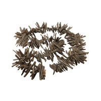 Lazy Susan by Dimond Driftwood Garland in Charcoal Gray 356016