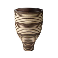 Lazy Susan by Dimond Mui Ne Dune Vessel in Brown and Cream 398013