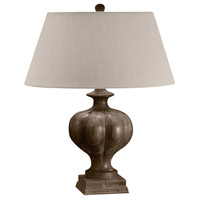 Dimond Lighting 440DW Bonita 27 inch 100 watt Dark Solid Wood Table Lamp Portable Light