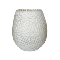 Lazy Susan by Dimond Signature Vase in White 464057