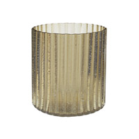 Lazy Susan by Dimond Signature Votive in Champagne Gold 464064