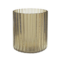 Lazy Susan by Dimond Signature Votive in Champagne Gold 464065