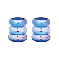 Lazy Susan by Dimond Signature Vase in Cobalt Blue 464074/S2