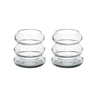 Lazy Susan by Dimond Signature Votive in Grey Bubble 464084/S2