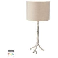 Dimond Lighting 468-022-HUE-B Tree Branch 26 inch 60 watt Nickel Table Lamp Portable Light