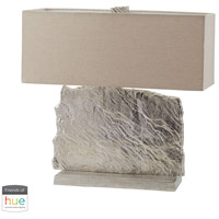 Dimond Lighting 468-026-HUE-B Slate Slab 24 inch 60 watt Nickel Table Lamp Portable Light