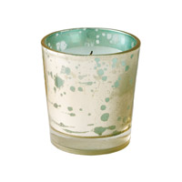 Lazy Susan by Dimond Gilded Votive in Blue 468005