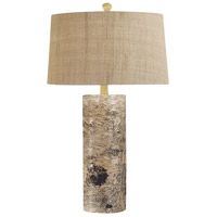 Dimond Lighting 500 Aspen Bark 30 inch 1 watt Natural Table Lamp Portable Light in Incandescent