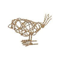 Lazy Susan by Dimond Scribble Bird in Gold 559008