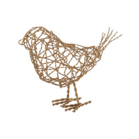 Dimond Home by Dimond Scribble Bird in Gold 559009
