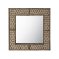 Lazy Susan by Dimond Wire Mirror in Brown 594036