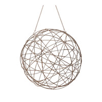Lazy Susan by Dimond Wire Wire Sphere in Aged Iron 594046